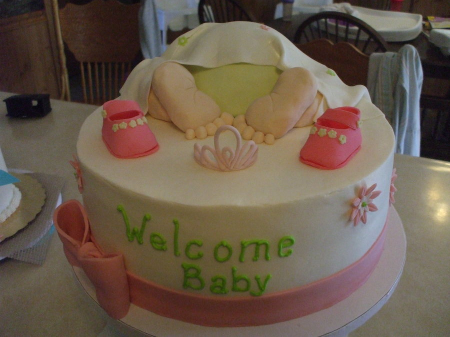 Princess Baby Bottom on Cake Central