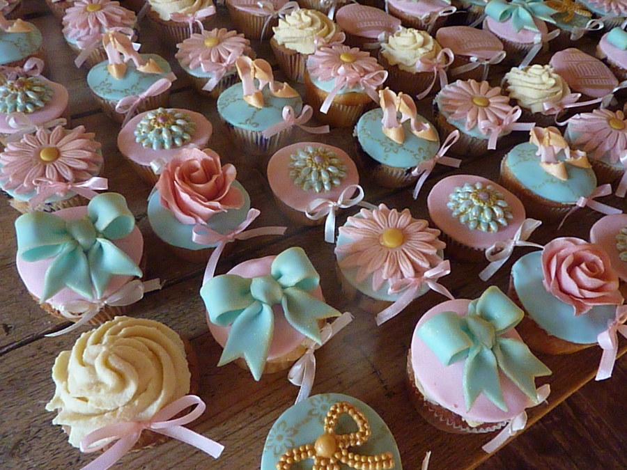 Sweet Romantic Pastel Cupcakes on Cake Central