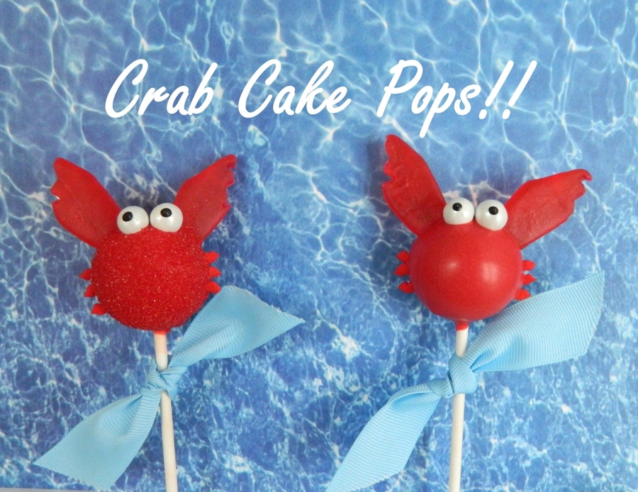 Crab Cake Pops!! on Cake Central