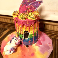 Another Fat Unicorn Cake! Second fat unicorn cake!